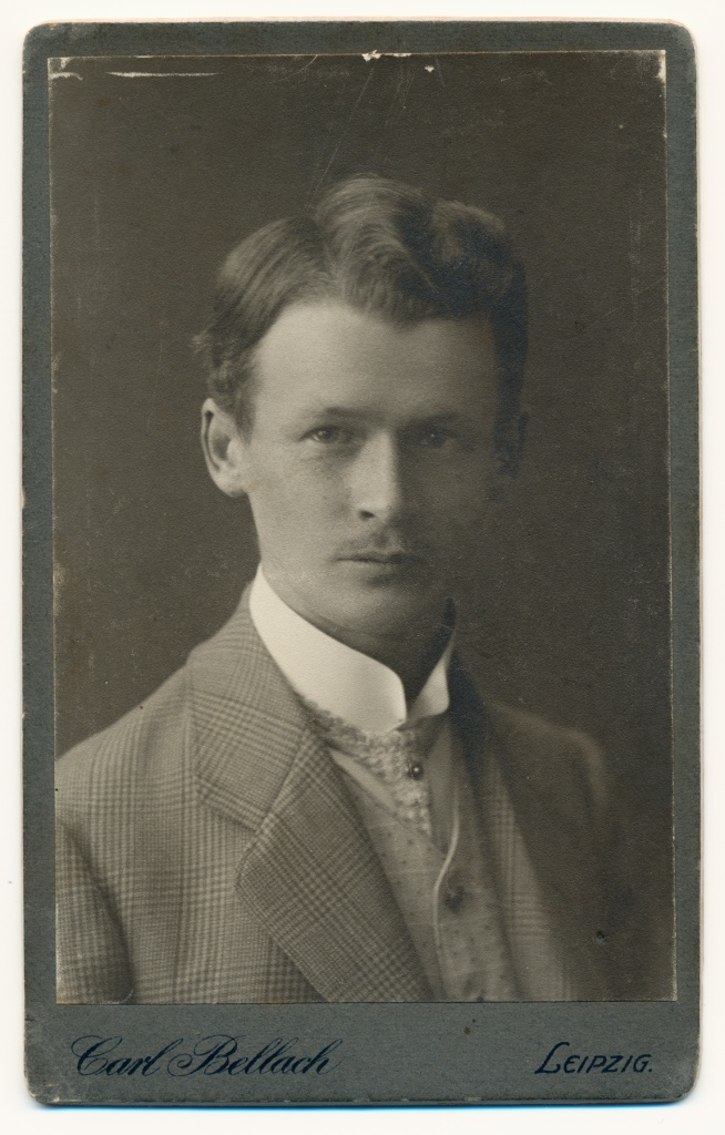 Walther Mogk, 1910